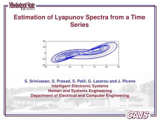Estimation of Lyapunov Spectra from a Time Series