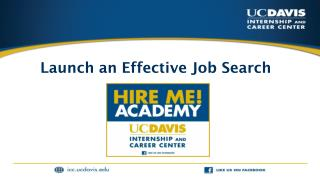 Launch an Effective Job Search