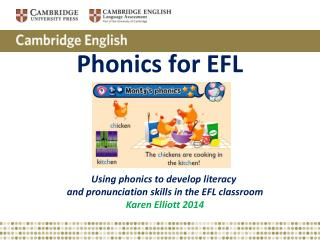 Phonics for EFL