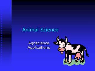 Animal Science