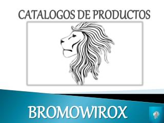 CATALOGOS DE PRODUCTOS