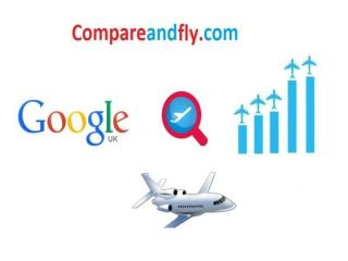 Comparing Flight Tickets on Compareandfly.com