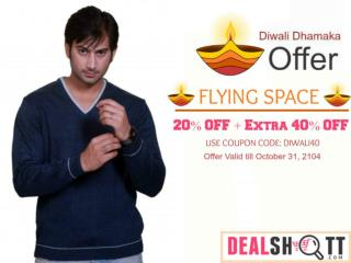 Mens Wear - Diwali Dhamaka Offer 2014