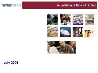 Acquisition of Retail-J Limited
