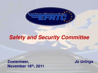 Safety and Security Committee