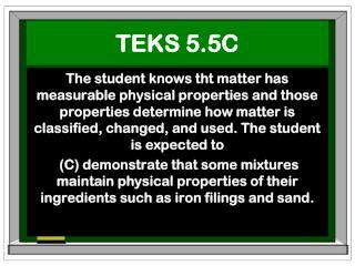 TEKS 5.5C