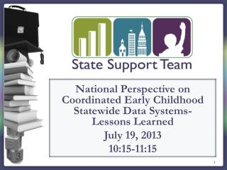 National Perspective on Coordinated Early Childhood Statewide Data Systems- Lessons Learned