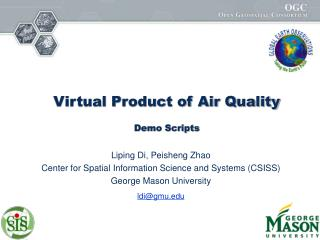 Virtual Product of Air Quality  Demo Scripts