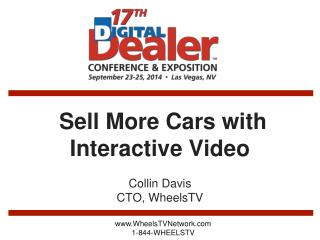 Sell More Cars with  Interactive Video