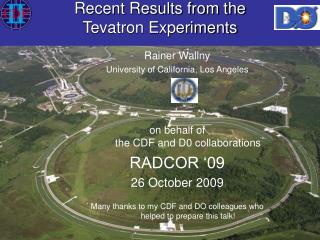 Recent Results from the  Tevatron Experiments
