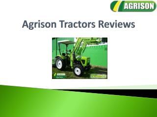 Agrison Tractors Reviews