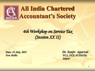 All India Chartered              Accountant's Society