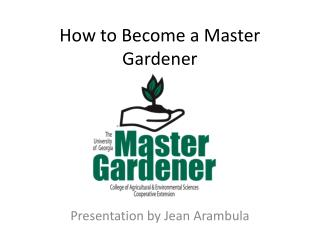 How to Become a Master Gardener