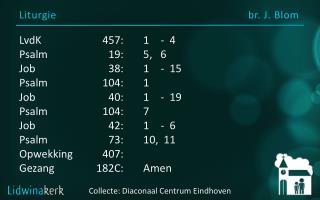 Liturgie br. J.  Blom
