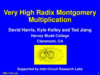 Very High Radix Montgomery Multiplication