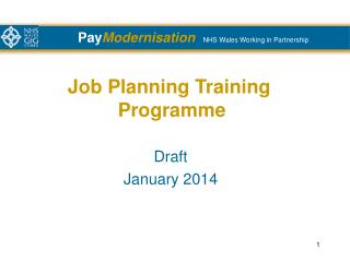 Job Planning Training  Programme