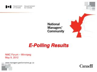 E-Polling Results