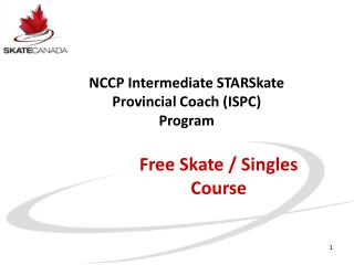 Free Skate / Singles Course