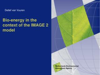 Bio-energy in the context of the IMAGE 2 model