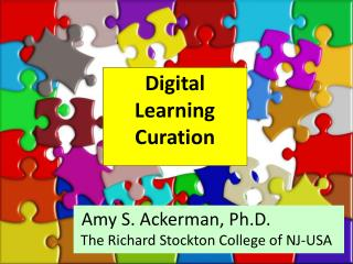 Digital Learning Curation