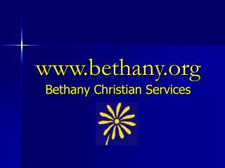 bethany Bethany Christian Services