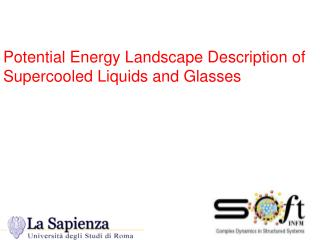 Potential Energy Landscape Description of Supercooled Liquids and Glasses