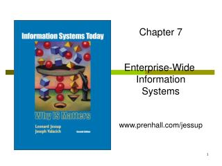 Chapter 7 Enterprise-Wide  Information Systems prenhall/jessup