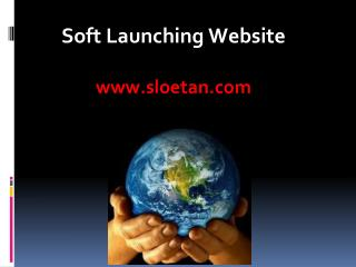 Soft Launching Website sloetan