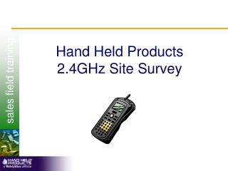 Hand Held Products 2.4GHz Site Survey