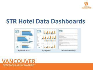 STR Hotel Data Dashboards