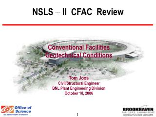 NSLS  –  II  CFAC  Review