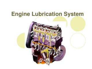Engine Lubrication System