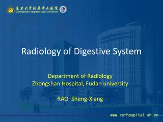 Radiology of Digestive System