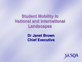 Student Mobility in  National and International  Landscapes