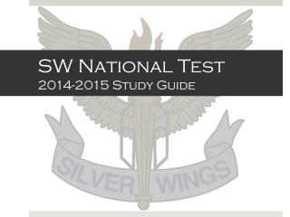 SW National Test 2014-2015 Study Guide