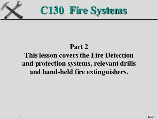 C130  Fire Systems