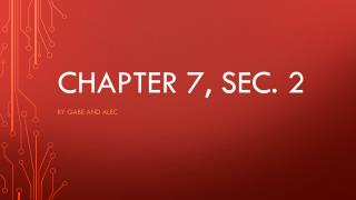 Chapter  7, sec. 2