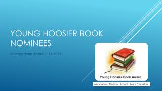 Young Hoosier Book Nominees