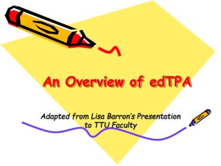 An Overview of edTPA