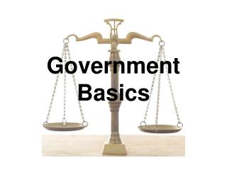Government Basics