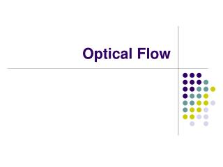 Optical Flow