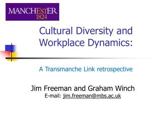 Cultural Diversity and Workplace Dynamics:
