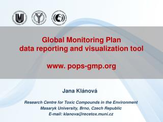 Global Monitoring Plan data reporting and visualization tool  pops-gmp