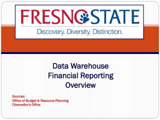 Data Warehouse Financial Reporting  Overview