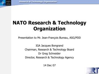 NATO Research & Technology Organization