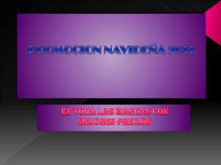 PROMOCION NAVIDEÑA 2011