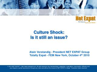 Culture Shock: Is it still an issue?