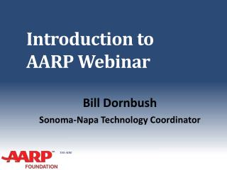 Introduction to AARP Webinar