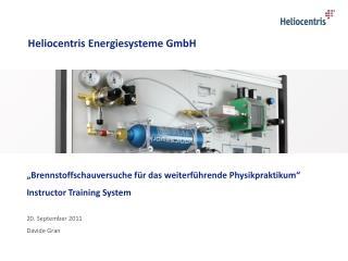 Heliocentris Energiesysteme GmbH
