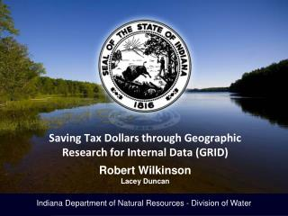 Indiana Department of Natural Resources - Division of Water